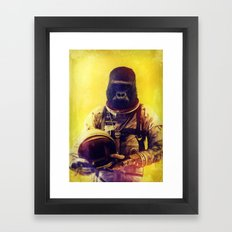 Back To The I'm From The… Framed Art Print