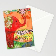 Contemplate with the Heart Stationery Cards