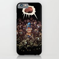 iPhone & iPod Case featuring More BRAINS for OZ by Carlos Rocafort
