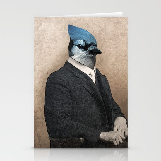 Mordecai & Rigby Stationery Card