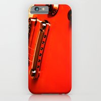 Six Strings On Red iPhone 6 Slim Case