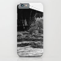 iPhone Cases featuring Staring at the sea by Mark Nelson