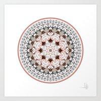 Khatem Rosette 004 | Mut… Art Print