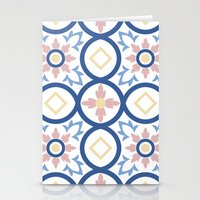 Floor Tile 2 Stationery Cards