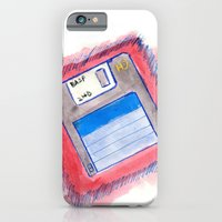 iPhone & iPod Case featuring disk by eduardo vargas