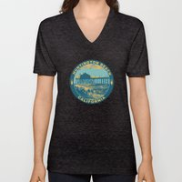 Vintage Huntington Beach… Unisex V-Neck