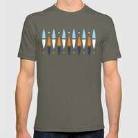 Surf's Up Mens Fitted Tee Lieutenant SMALL