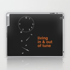 living in & out of tune Laptop & iPad Skin