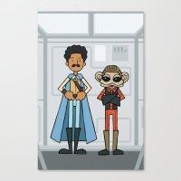 EP6 : Lando & Nien Nunb Canvas Print