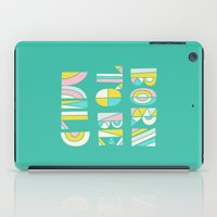 Born to be mild iPad Case