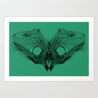 Winged Beauty Art Print