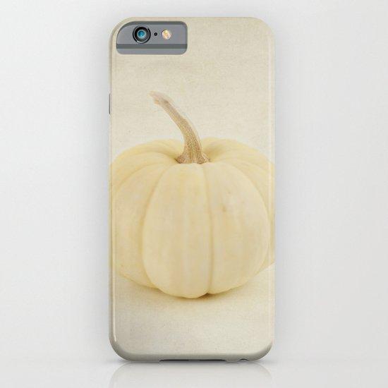 Baby White Pumpkin iPhone & iPod Case