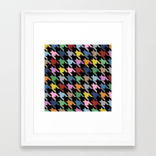 Black Dog T Framed Art Print