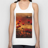 Fields Of Fire Unisex Tank Top