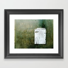 A Hidden Message... Framed Art Print