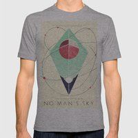 No Man's Sky Mens Fitted Tee Athletic Grey SMALL