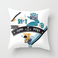 L. Throw Pillow