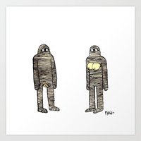 Mummies Art Print