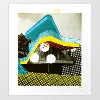 BauHaus 4 Art Print