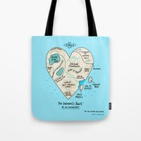 A Map Of The Introvert's… Tote Bag