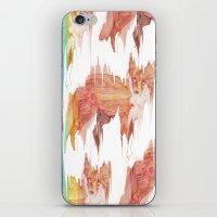 Remix Red Fox iPhone & iPod Skin