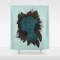 Ornithology. Shower Curtain