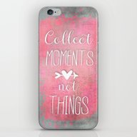 iPhone & iPod Skin featuring Moments by LebensART