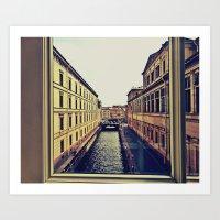 Sankt Petersburg Art Print