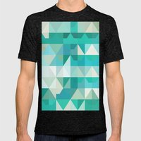 Color Story - Poseidon Mens Fitted Tee Tri-Black SMALL