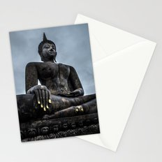 blind gold Stationery Cards