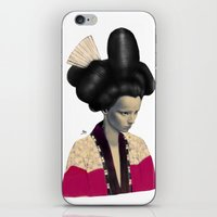 Geisha iPhone & iPod Skin