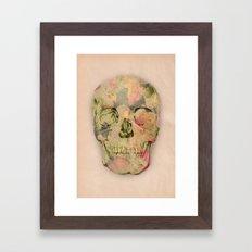 skull1 Framed Art Print
