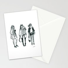 Brush Pen Fashion Illustration - East Coast Girls Stationery Cards