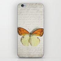 Hebomoia Glaucippe Lepid… iPhone & iPod Skin