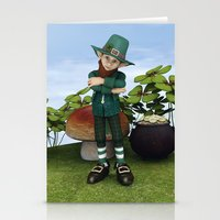 Pot of Gold Stationery Cards
