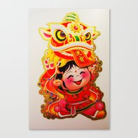 Chinese New Year 2013 Canvas Print