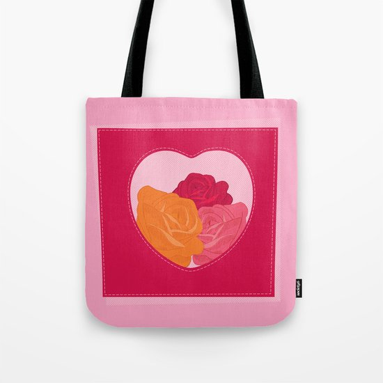 everything's rosy and lovely Tote Bag