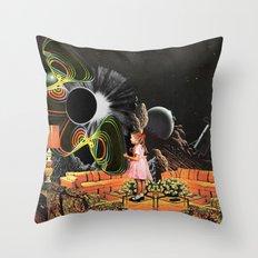 Inter-Dimensional Phone … Throw Pillow