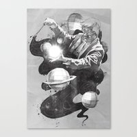 Space Symphony Canvas Print