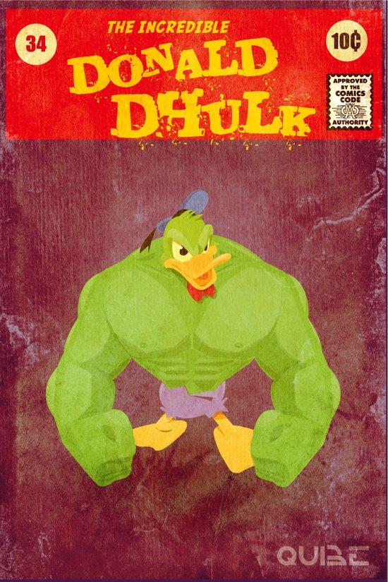 coupling up (accouplés) Donald Dhulk Art Print