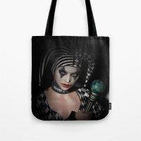 Dark clown Tote Bag