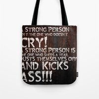 KICK ASS! Tote Bag