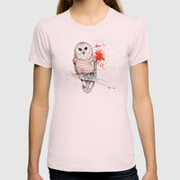 Number One Womens Fitted Tee Light Pink SMALL
