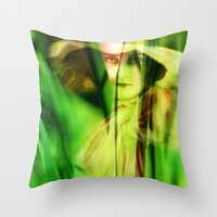Voyeur Throw Pillow