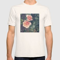 Roses Mens Fitted Tee Natural SMALL