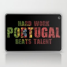 Hard Work Beats Talent Laptop & iPad Skin