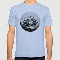 Lacrymosa Mens Fitted Tee Tri-Blue SMALL