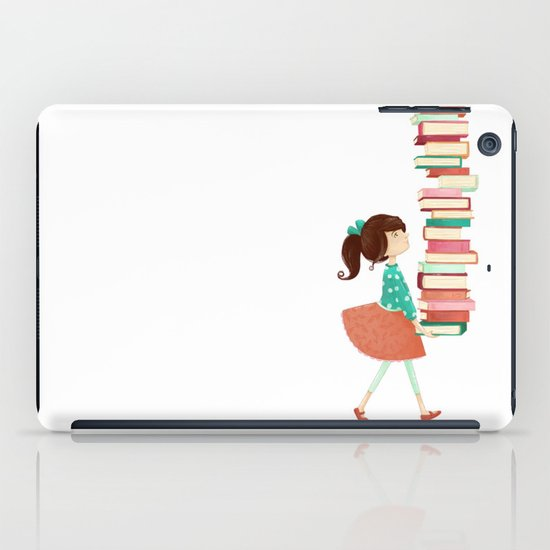 Library Girl iPad Case