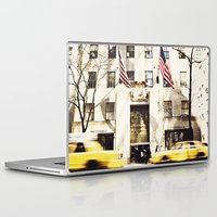 nyc Laptop & iPad Skins featuring NYC by Finch & Maple
