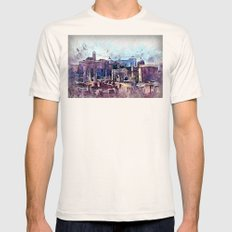 Rome Mens Fitted Tee Natural SMALL